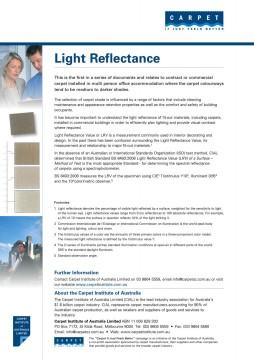 Light Reflectance