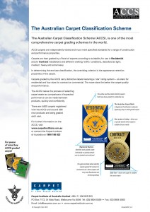 Australian Carpet Classification Scheme
