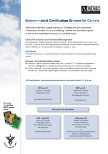 Environmental Certification Scheme