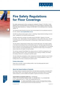 Fire Safety Regulations for Floor Coverings
