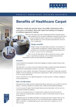 Benefits of Healthcare Carpet