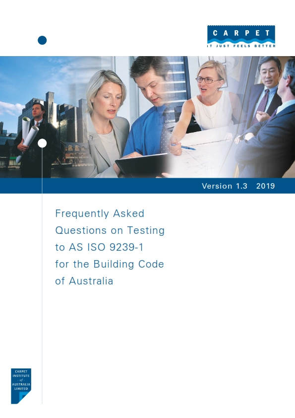 FAQ on Testing to AS ISO 9239-1 for the Building Code of Australia